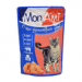 Цены на MonAmi MonAmi кусочки в соусе для кошек (с говядиной),   100 гр