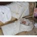 Цены на GulSara Комплект на выписку GulSara 6пр Молочный Лето КН - 16 Комплект на выписку 6 пр Бязь *конверт синтепоновый 70*40,   *одеяло синтепоновое 90*90,   *чепчик - шапочка,   размер 18. *распашонка,   *ползунок евро,   *чепчик. Отделка: рюши,   декоративная вуаль,   кулирка