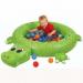 Цены на Upright Манеж Upright КРОКОДИЛ + 50 шаров OT7020J Сухой бассейн (надув.) Крокодил  +  50 шаров,   предназначен для детей от 9 - ти месяцев. Подходит для игр как в помещении,   так и на открытом воздухе. Включает в себя 50 шаров. Можно использовать ручной или ножной