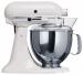 Цены на KitchenAid Миксер KitchenAid 5K45SSEWH белый Планетарный настольный миксер KitchenAid Classic с чашей объёмом 4,  28л – классическое решение для вашей кухни. Металлический корпус гарантирует надёжность,   устойчивость и долговечность,   а благодаря тщательно пр