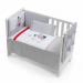 Цены на Inter Baby Кровать Inter Baby с комплектом постельного белья Amigos 91212 серая изысканный дизайн элитная коллекция комплект отличается высоким качеством пошива бельё полностью безопасно и гипоаллергенно благодаря устойчивым красителям,   белье сохраняет на