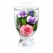 Цены на Композиция из роз и орхидей (арт. CuLM2) в подарочной упаковке Данная композиция состоит из натуральных роз и орхидей,   обезвоженных по специальной технологии,   которая даёт возможность цветам сохранять свой свежий вид на несколько лет,   в среднем 6. В течен