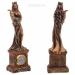 Цены на Фигурка декоративная Фортуна (Богиня удачи,   изобилия) с композицией время,   L7,  5 W5,  6 H24см