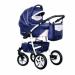 Цены на Caretto (Польша) Коляска ADRIANO F 3в1 (Caretto),   Ad 06 (синяя + бел.кожа) Стиль и безопасность,   комфорт и функциональность  -  все это о коляске Caretto ADRIANO F 3в1. Долгожданная новинка от бренда Caretto порадует продуманностью дизайна и конструкторскими
