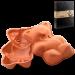 Цены на Silikomart Форма медведь,   290х200 мм.,   в подарочной упаковке серия Let`s Celebrate,   SILIKOMART Силиконовая форма отлично подходит для приготовления разнообразной выпечки и десертов. Готовые сладости вынимаются из гибкой и прочной формы очень легко,   а во в