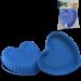 Цены на Silikomart Форма сердце,   d 22 см,   выс. 3 см,   светло - синяя,   на карточке Силиконовая форма отлично подходит для приготовления разнообразной выпечки и десертов. Готовые сладости вынимаются из гибкой и прочной формы очень легко,   а во время приготовления не пр