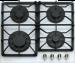 Цены на Kuppersberg Kuppersberg FQ663W Газовая варочная поверхность,   закаленное стекло,   ширина 60 см,   4 газовые конфорки,   1 конфорка повышенной мощности,   автоподжиг,   газ - контроль,   чугунные решетки,   цвет белый жемчуг/ поворотные переключатели цвета бронзы