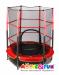 Цены на Moove&Fun складной с сеткой MFT05R Батут детский Moove&Fun с сеткой MFT05R