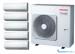 Цены на Toshiba RAS - 5M34UAV - E/ 5хRAS - M10SKV - E мульти сплит - система Toshiba кондиционер на 5 комнат Инверторная технология позволила снизить шум мульти - сплит систем Toshiba и расход электроэнергии. Инверторные кондиционеры быстро создают в Вашей квартире комфортную