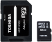 Цены на Toshiba Карта памяти Toshiba THN - M102K0160M2 Standart microSDHC 16GB THN - M102K0160M2  +  SD - адаптер