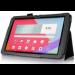 Цены на Чехол книжка для планшета LG G Pad 10.1 V700 (Черный) Кожаный чехол книжка для планшета LG G Pad 10.1 V700. Стильный,   модный,   удобный чехол защитит Ваше цифровое устройство смартфон или планшет и дополнит Ваш индивидуальный образ благодаря современному ди