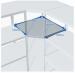 Цены на ПРОМЕТ (Россия) Угловая секция MS Standart 220/ 60x40 (4 полки) Высота секции — 2200 мм Ширина секции — 600 мм Для стеллажа глубиной 400 мм Нагрузка на секцию — 500 кг Вы можете выбрать любое количество полок