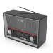 Цены на Ritmix RPR - 102 CARBON Радиоприемник Ritmix RPR - 102 CARBONВоспроизводимые форматы аудио  -  MP3 Диапазон радиочастот  -  FM,   КВ 1–2,   СВ Антенна  -  телескопическая 360° Динамики  -  2 Питание  -  встроенный аккумулятор /  батарейки 6 x R20 /  сеть 220 В Дополнительные