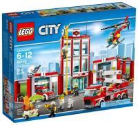 Фото LEGO City 60110 Пожарная часть