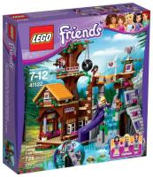 Фото LEGO Friends 41122 Спортивный лагерь: дом на дереве