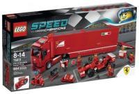 Фото LEGO Speed Champions 75913 Феррари F14 и грузовик Скудерии Феррари