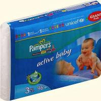 Фото Pampers Active Baby Midi 3 (96 шт.)