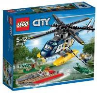 LEGO City 60067 Преследование вертолетом