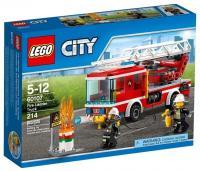LEGO City Fire 60107 Пожарная машина с лестницей
