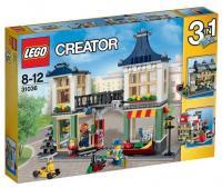 LEGO Creator 31036 Магазин игрушек и продуктов