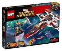 LEGO Super Heroes 76049 Реактивный самолёт Мстителей: Космическая миссия