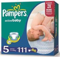 Pampers Active Baby Junior 5 (111 шт.)