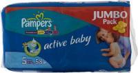 Pampers Active Baby Junior 5 (58 ��.)
