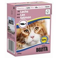 Bozita Feline кусочки в соусе с лососем 370 г
