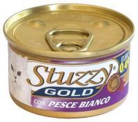 Stuzzy Gold консервы для кошек мусс из белой рыбы 85 гр