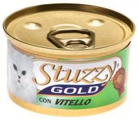 Stuzzy Gold консервы для кошек мусс из телятины 85 гр