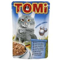 TOMi Консервы с лососем и форелью 0,1 кг