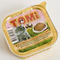 TOMi Паштет с креветками 0,1 кг