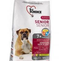 1st CHOICE Seniors All Breeds - Sensitive skin & coat 12 кг