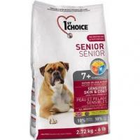 1st CHOICE Seniors All Breeds - Sensitive skin & coat 2,72 кг