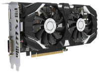 Фото MSI GeForce GTX 1050 Ti 4GT OC