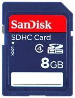 SanDisk SDHC 8Gb