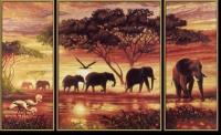 Schipper Африканские слоны