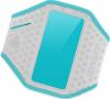 Фото Yurbuds Universal Ergosport LED Armband - Gray/Aqua for women (YBWNUARM02GNA)